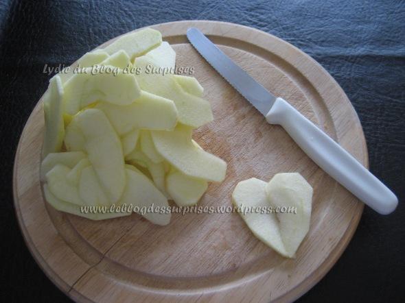 4-Coeur sucré de pomme - FILIGRANE